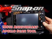 Snap On Apollo D8 Intelligent Diagnostic Scanner Tool NEW 2020 software Mac Tools Launch Autel Delpi