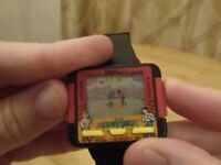 HULK HOGAN 1991 Collectors watch Game/VERY RARE AND VINTAGE GAME / cash or swaps are welcome