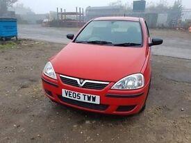 Vauxhall corsa van 1.3 diesel