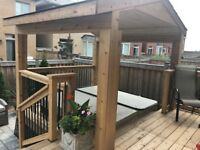 Deck and Fences