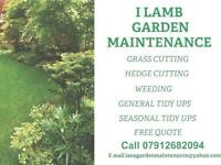 I Lamb Garden Maintenance