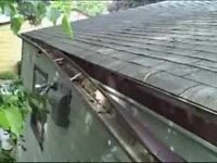 Eavestrough/gutter repairs, cleaning, leaf guards & installation