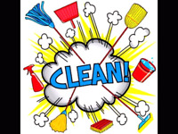 Cleaning lady available weekend