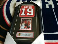Selling An Unautographed Jonathan Toews Framed Picture