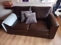 Fake leather sofa