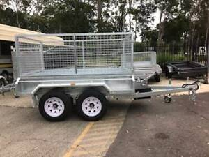 8 x 5 H/DUTY HYDRAULIC TIPPER WITH CAGE TANDEM AXLE 3200 kg GVM Erina Gosford Area Preview