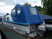 Cabin cruiser. 25ft. 4 birth. 9.8 recon outboard. Needs a really good clean since pics were taken