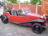 Spartan roadster on triumph herald chassis