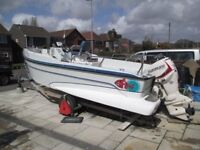 Redfinn 6m Centre Console Boat with New 90hp Evinrude E-Tec Outboard For Sale