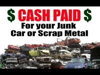 Scrap Cars Vans 4x4s Wanted - Collected and Taken Away