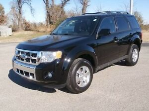 2012 Black Ford Escape Limited