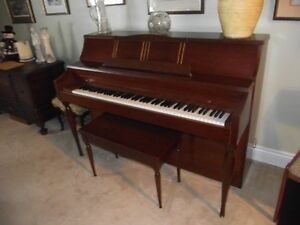REDUCED FROM $500.00. GERHARD HEINTZMAN PIANO