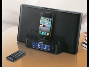 Sony Audio System (Dock for iPhone, iPod, Alarm Clock and Radio)