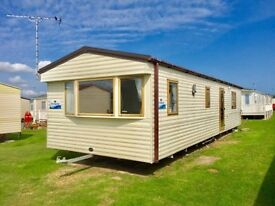Spacious 6 berth static caravan with double glazing & central heating for sale in Norfolk.