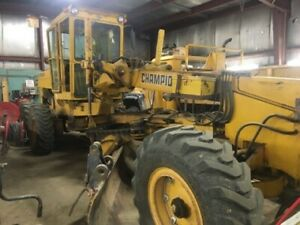 1980 Champion MD740 Grader For Sale by Tender