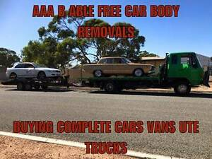 FREE REMOVAL 0F CARS/VANS/UTES/4X4/TRUCKS CASH FOR SOME..TOWING Salisbury Salisbury Area Preview