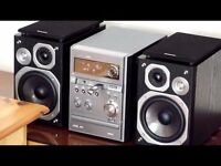 PANASONIC COMPACT HI-FI SYSTEM IN PERFECT CONDITION AND WORKING ORDER