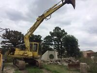 Hymac 580d digger export swap plant machinery tractor