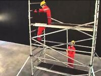 Wanted Aluminium Scaffolding tower complete or individual parts