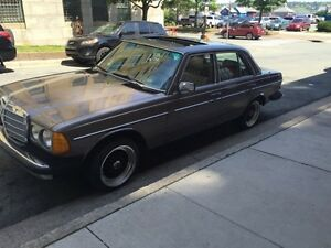 1984 Mercedes-Benz 300-Series Sedan W123 Diesel