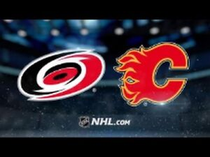 Flames VS Hurricanes - 2 Tickets For Sale
