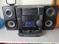 SONY CD cassette player