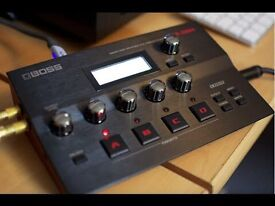 Boss GT 001 desktop guitar effects unit with midi tracking