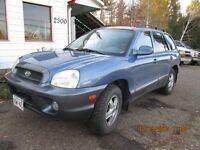 2003 Hyundai Santa Fe delux SUV, Crossover