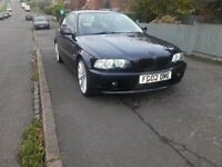 bmw 2.5l lovley car tax mot !