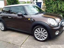 Mini Cooper Mayfair 2010 special edition.