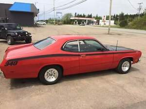 71 Plymouth duster H code Car