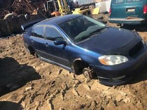 2004 COROLLA... JUST IN FOR PARTS AT PIC N SAVE!