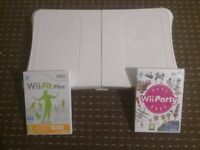 wii fit balance board and games