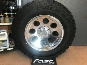 Set of 4 Brand New Pro Comp Rims with LT265/70R17 Falken MT