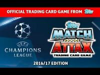 Match Attax Champions League 16/17 Swaps