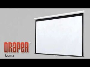 Pull Down Projection Screen