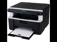 Mono Laser all in one printer and scanner DCP1512