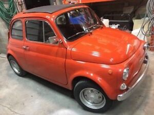 THIS IMPECCABLE FIAT 500 IS NOW AVAILABLE TO SERIOUS COLLECTORS