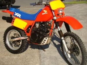 Wanted parts for 1984 Honda xr500r