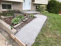Concrete work!