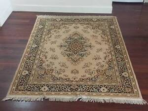 Beige persian style rug (170 x 215 cm) Lilyfield Leichhardt Area Preview