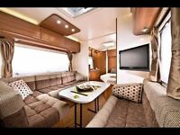 Adria Astella Rio Grande 613 HT Fixed Double Bed 4 berth Caravan 2013 model