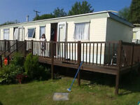 Static caravan for sale 2 bed Lampeter nr Aberaeron £2500