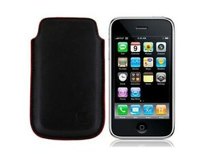 Leather Bag Pouch Cover For iPhone 3G /3GS/4G, iPod Touch