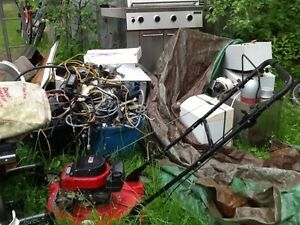 Pick up of old heat exchangers and Pool Heaters