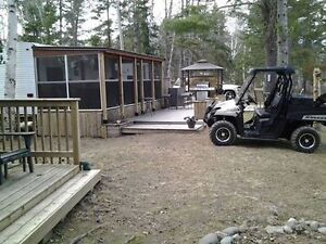RV site for sale at waterfront Camp Maple Mountain RV Resort