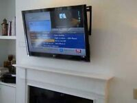 """LG 50"""" full HD TV - excellent condition with wall mount and fittings no stand"""