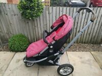 Complete Mothercare Xpedior Pram and Pushchair Travel System
