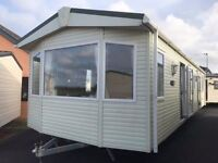 Disability adapted Static Caravan for sale 6 Berth (Wet Room / North Wales / Beach side location)