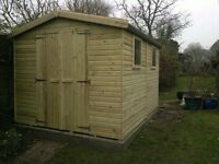Large shed - brand new 12x8 £1,199 - other styles & sizes available